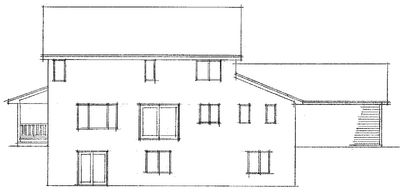 Farmhouse Plan with Two Elevations - 14312RK thumb - 02