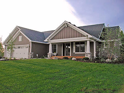 Ranch Home Plan With Optional Lower Level - 14315Rk