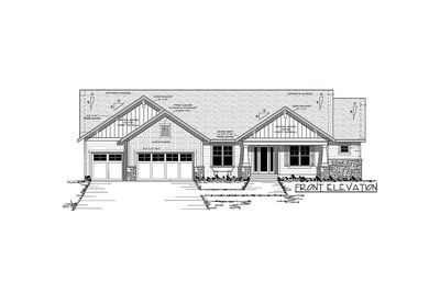 Ranch Home Plan with Optional Lower Level - 14315RK thumb - 12