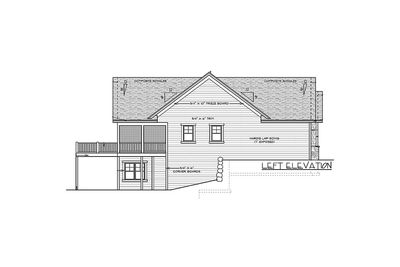 Ranch Home Plan with Optional Lower Level - 14315RK thumb - 13