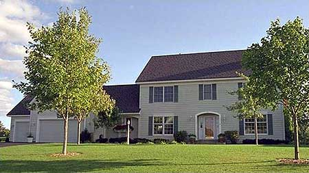Calssic Colonial With 3 Car Garage 14388rk Architectural Designs House Plans