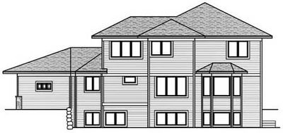 Architectural designs for Prairie style garage plans