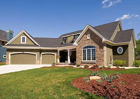 angled garage beauty - 14466rk | architectural designs - house plans
