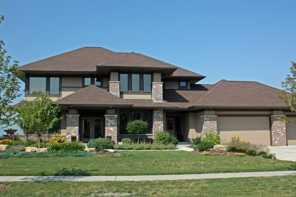 Prairie Style Home Plan - 14469Rk | 2Nd Floor Master Suite, Cad