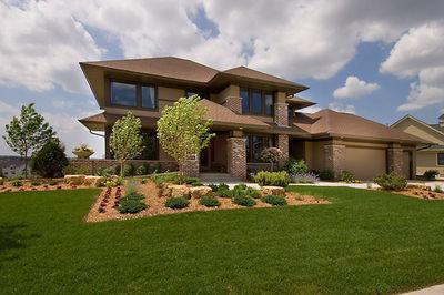 Prairie Style Home Plan - 14469RK thumb - 02