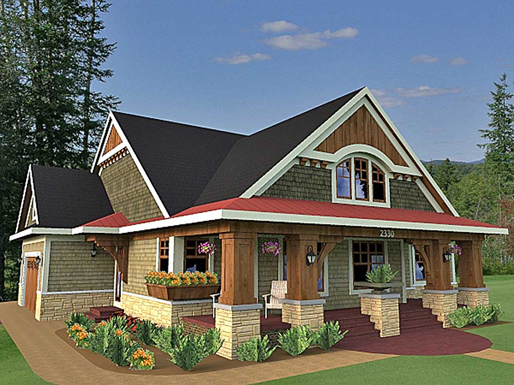 Traditional craftsman style house plans house design plans for Traditional craftsman style house plans