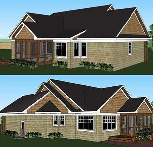 Vaulted Great Room and Screened Porch - 14569RK thumb - 05