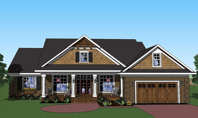 Vaulted Great Room and Screened Porch - 14569RK thumb - 01