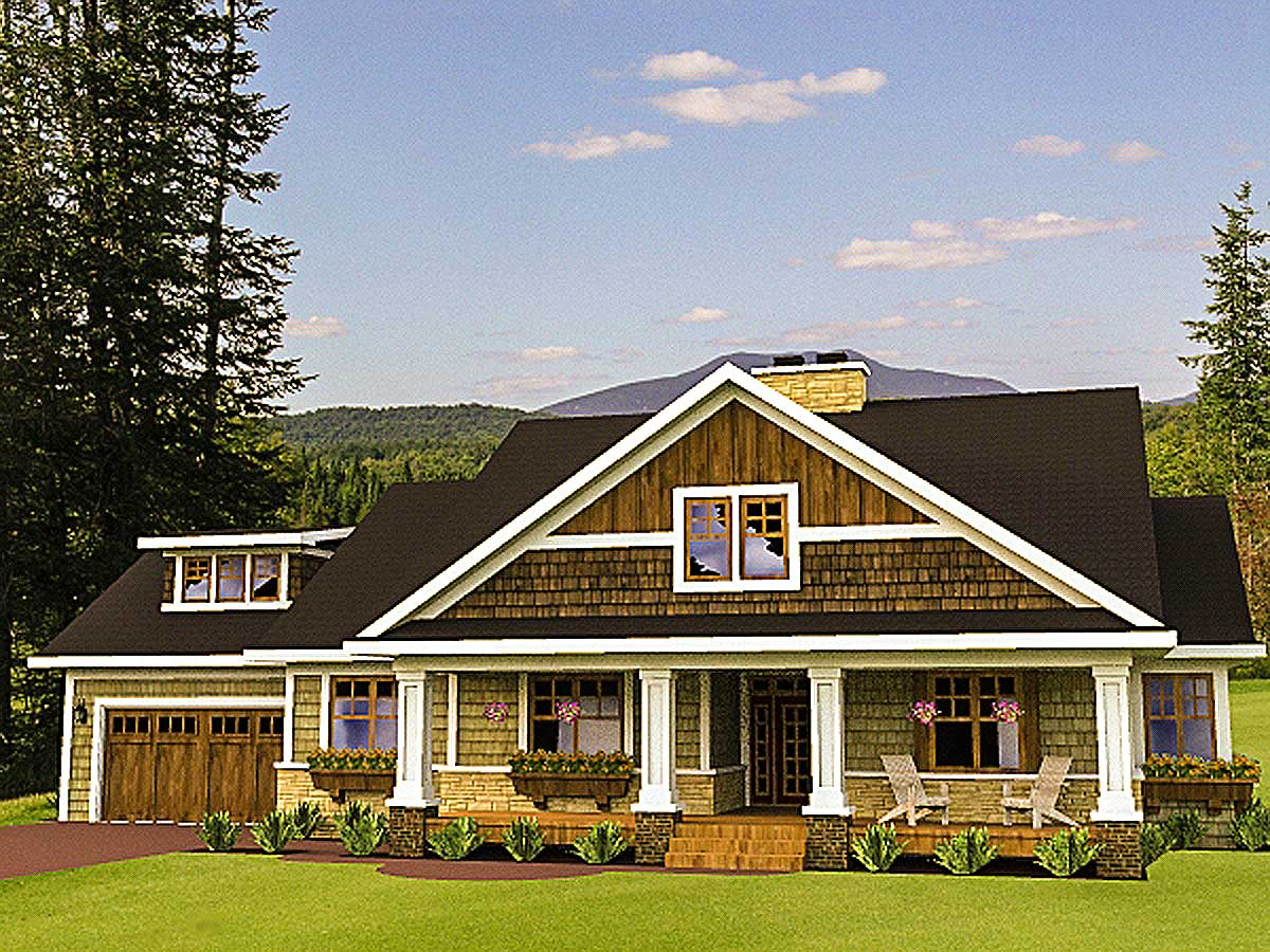 Loaded with storage space 14570rk architectural for Architecturaldesigns com house plan 56364sm asp