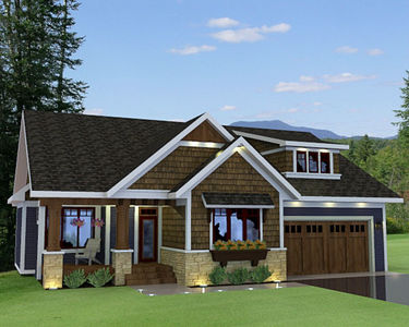 Bungalow with Optional In-Law Suite - 14572RK thumb - 01