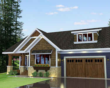 Bungalow with Optional In-Law Suite - 14572RK thumb - 04