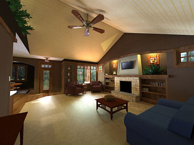 Bungalow with Optional In-Law Suite - 14572RK thumb - 02