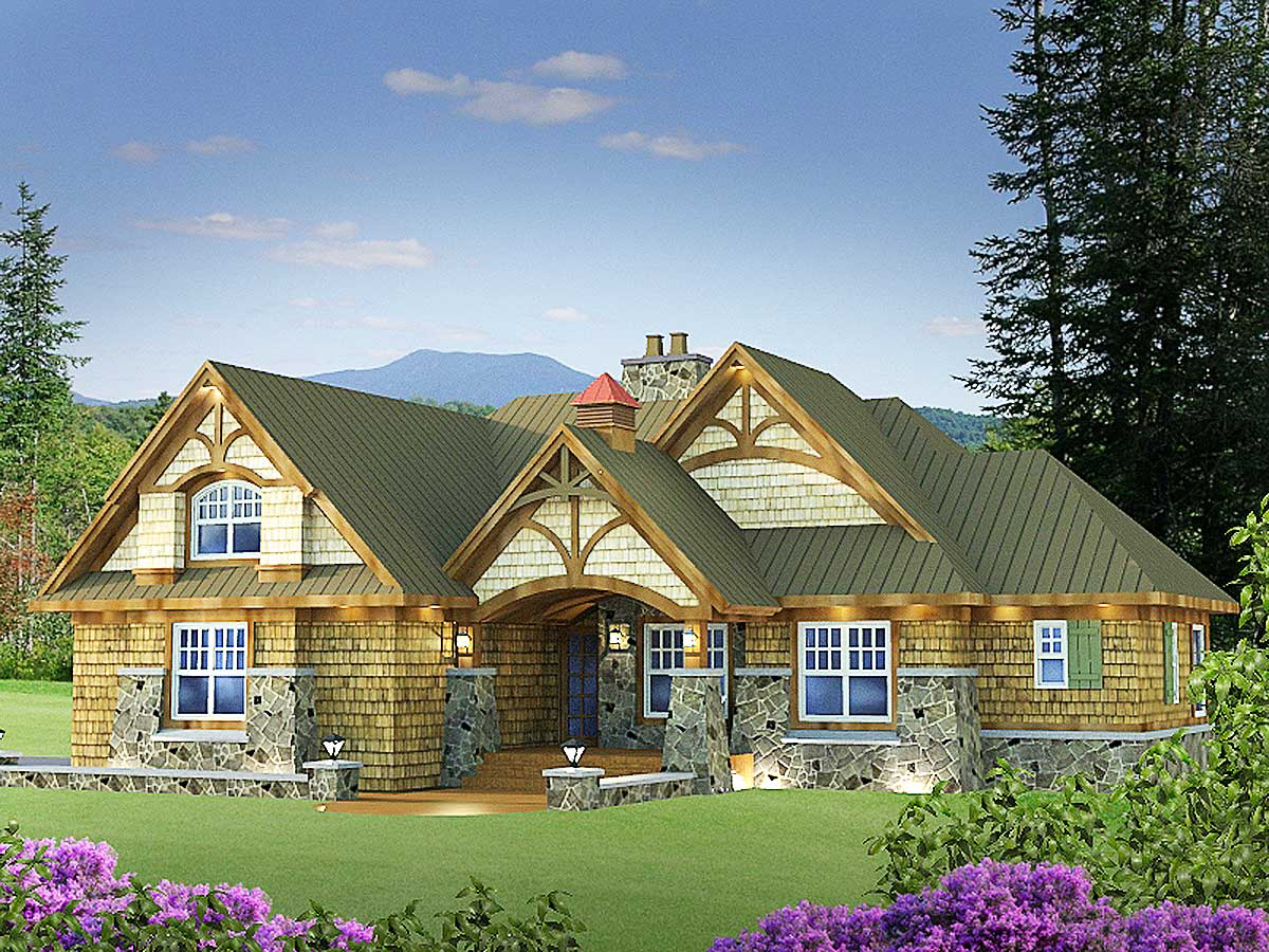 Attractive and affordable getaway 14575rk for Architecturaldesigns com house plan 56364sm asp