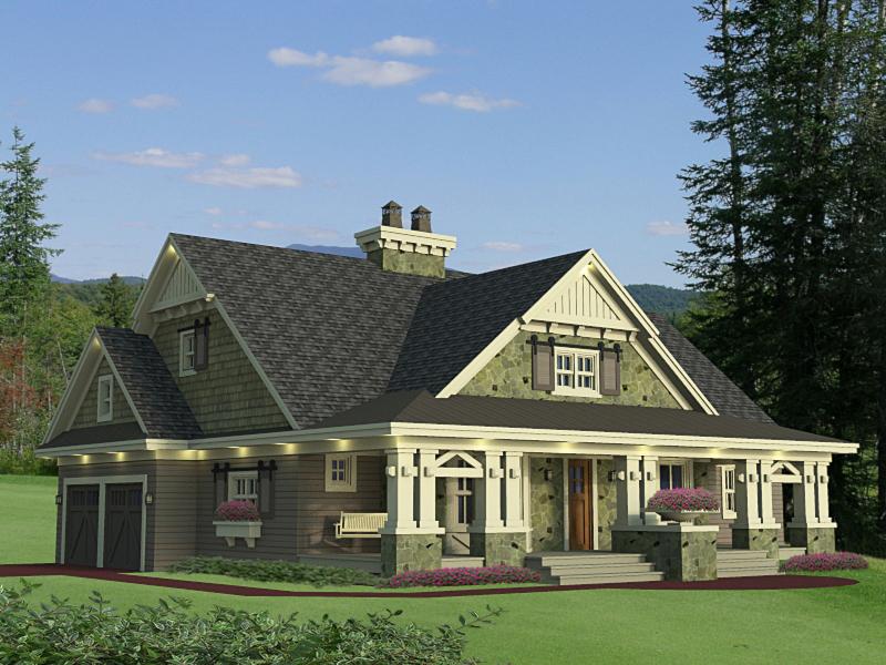 Beautifully Designed Craftsman Home Plan 14604rk
