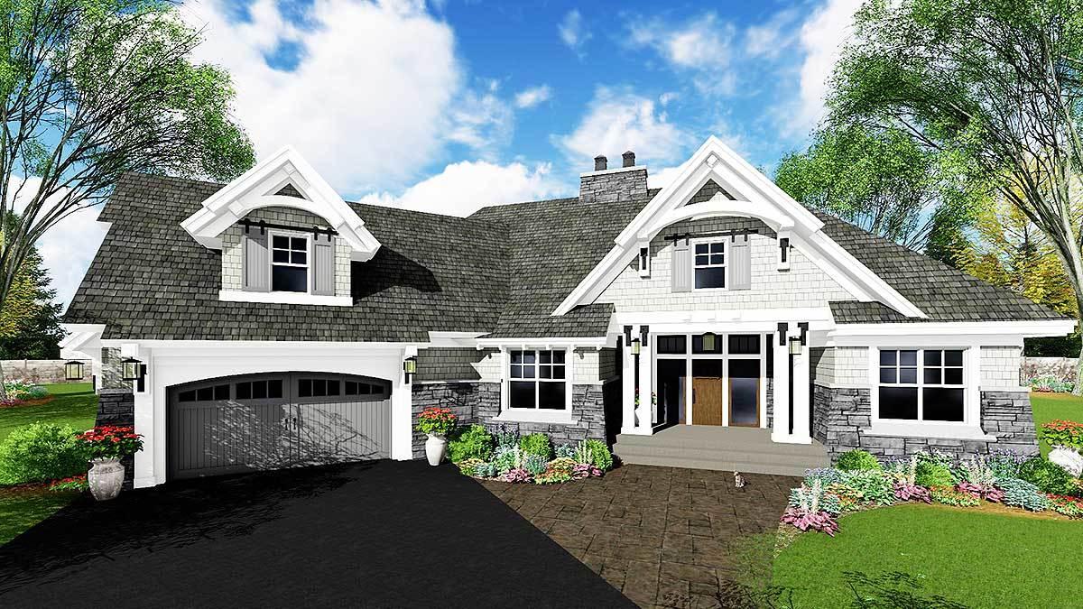 Plan 14649RK ArchitecturalDesignscom Exciting Craftsman House Plan