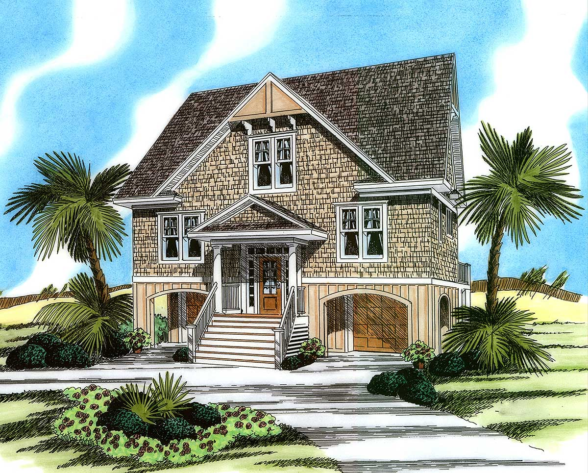 Low Country Charisma 15018nc Architectural Designs