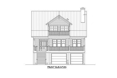 Raised House Plan Living - 15023NC thumb - 02