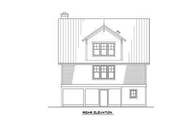 Raised House Plan Living - 15023NC thumb - 04