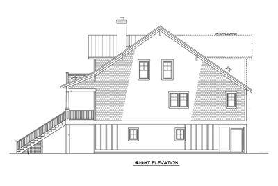 Raised House Plan Living - 15023NC thumb - 05