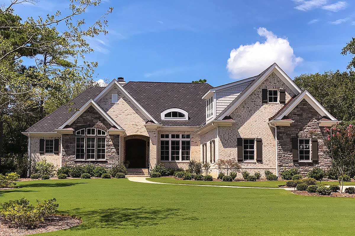 Elegant 3 Bed Ranch Home Plan With Bonus Over Garage 15030nc Architectural Designs House Plans