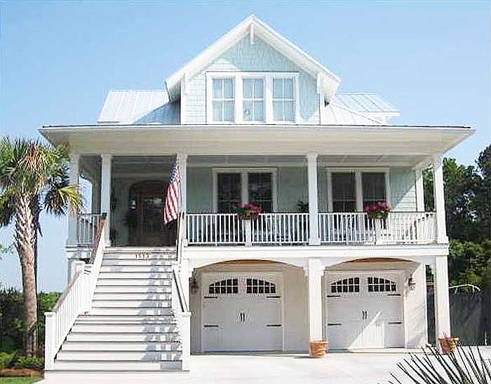 Architectural designs for Beach style home plans