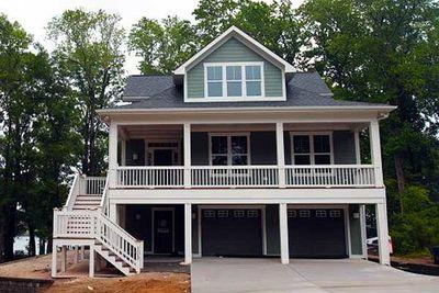 Narrow Lot Beach House Plan - 15035NC thumb - 02