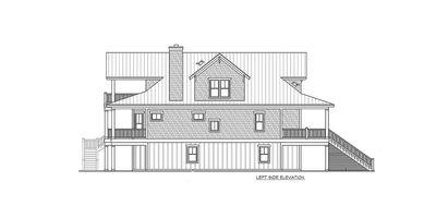 Narrow Lot Beach House Plan - 15035NC thumb - 05