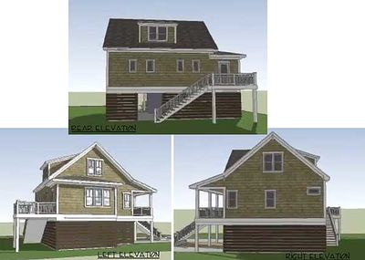 Gambrel-Roofed Shingle Style House Plan - 15039NC thumb - 03