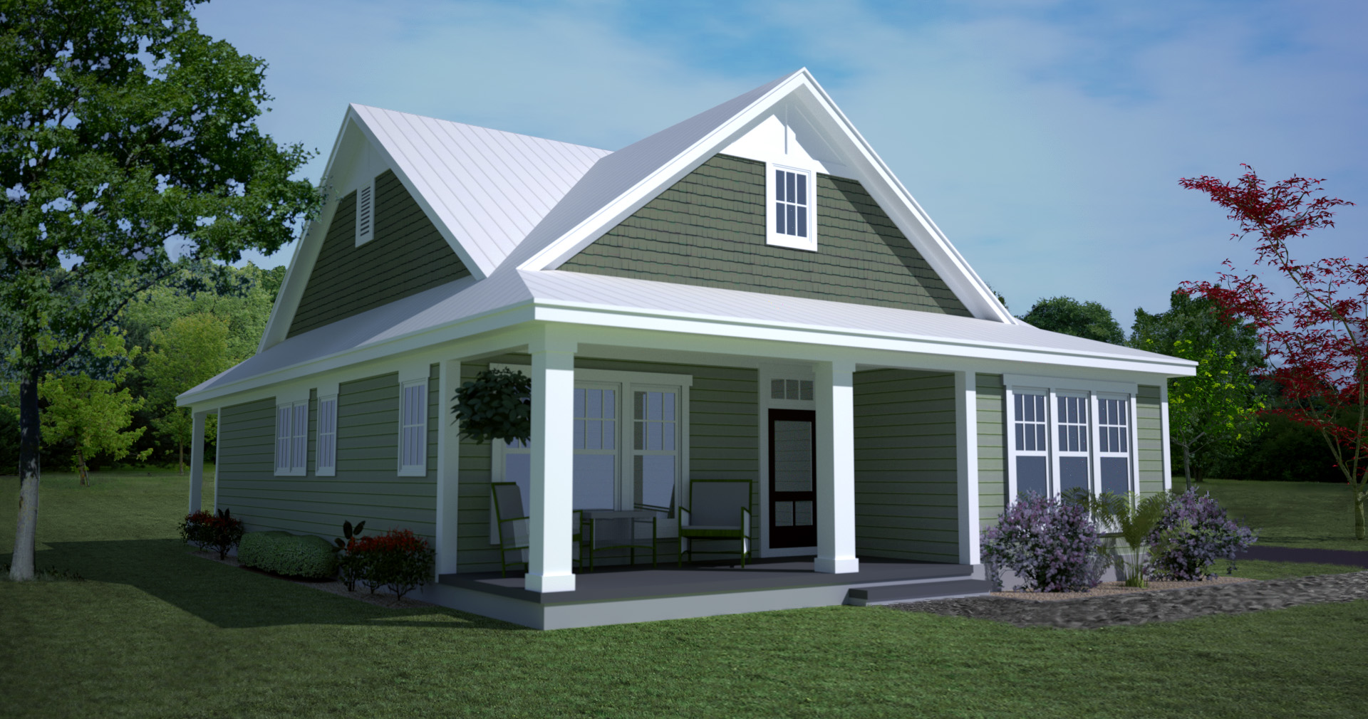 Classic american home styles house design plans for Classic house design