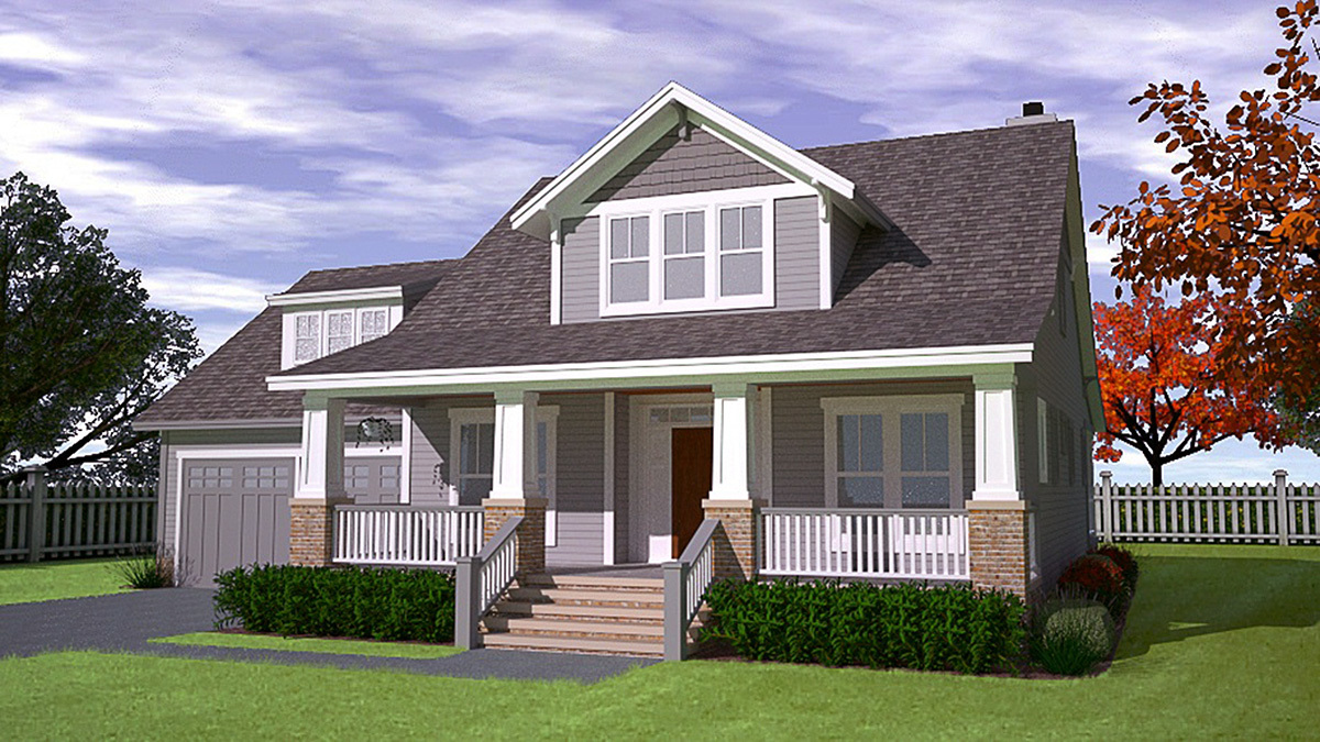 Master retreat 15045nc architectural designs house plans for Retreat house plans