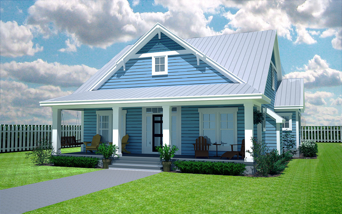 Comfy cozy 3 bedroom cottage 15052nc architectural for Cozy cottage plans