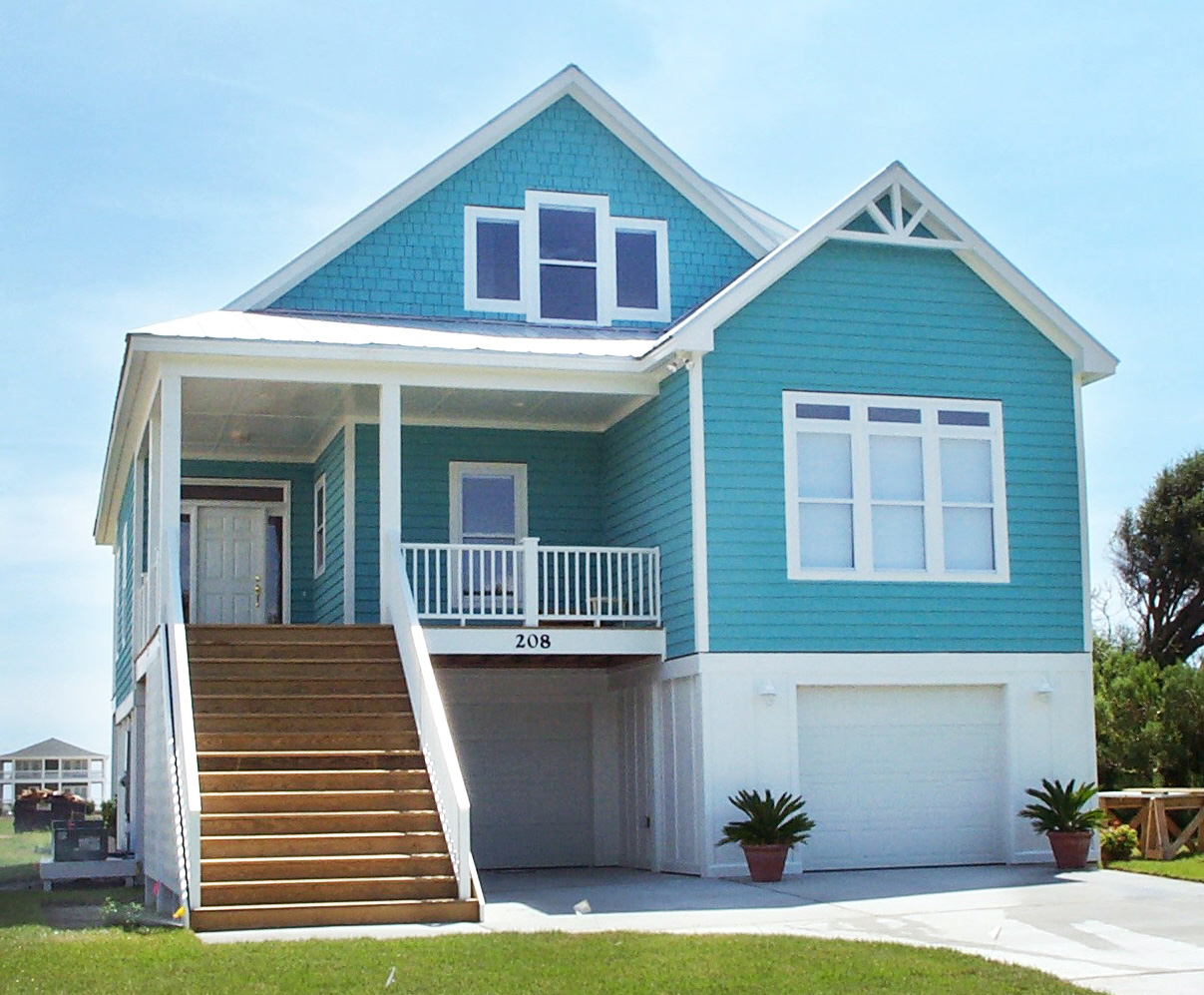 Coastal Cottage With Master Up 15069nc Architectural