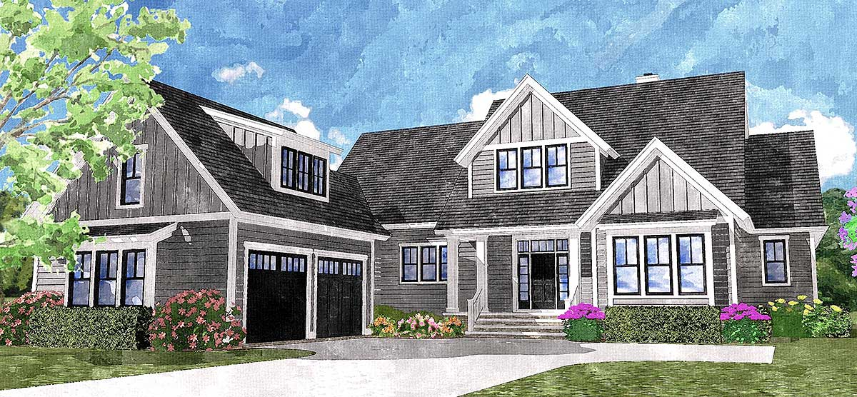 4 beds 2 porches and 1 terrace 15077nc architectural for Architecturaldesigns com house plan 56364sm asp