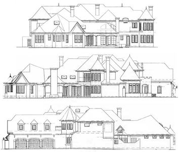 Luxurious european manor 15402hn architectural designs for European manor house plans