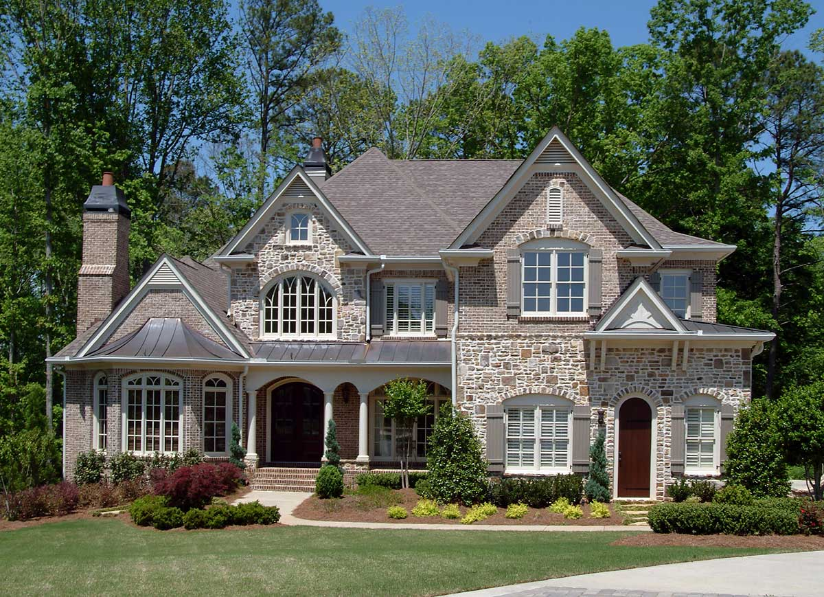 Classic master down house plan 15607ge architectural for Classic home design