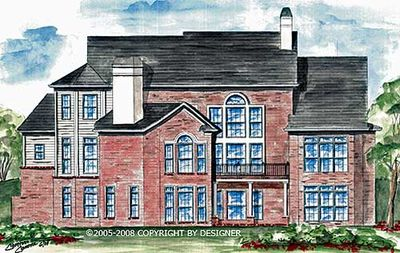 Master-Down Classic House Plan - 15608GE thumb - 12