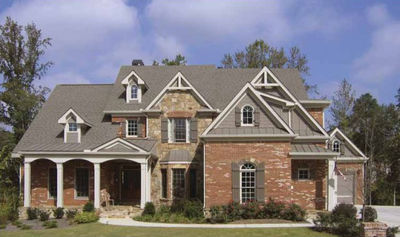 Master-Down Classic House Plan - 15608GE thumb - 01