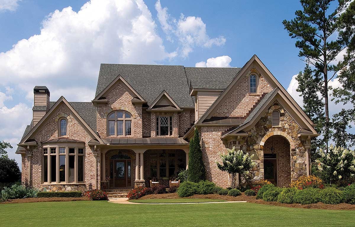Charming French European House Plan - 15616GE | Architectural ...