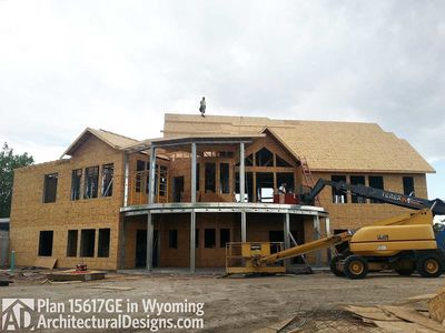 House Plan 15617GE comes to life in Wyoming! - photo 003
