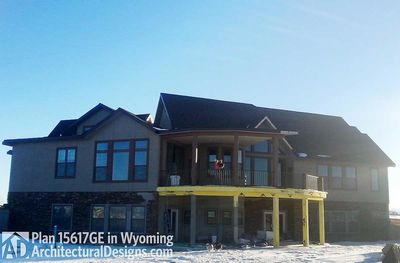 House Plan 15617GE comes to life in Wyoming! - photo 001