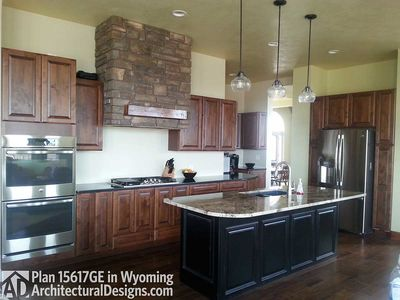 House Plan 15617GE comes to life in Wyoming! - photo 005