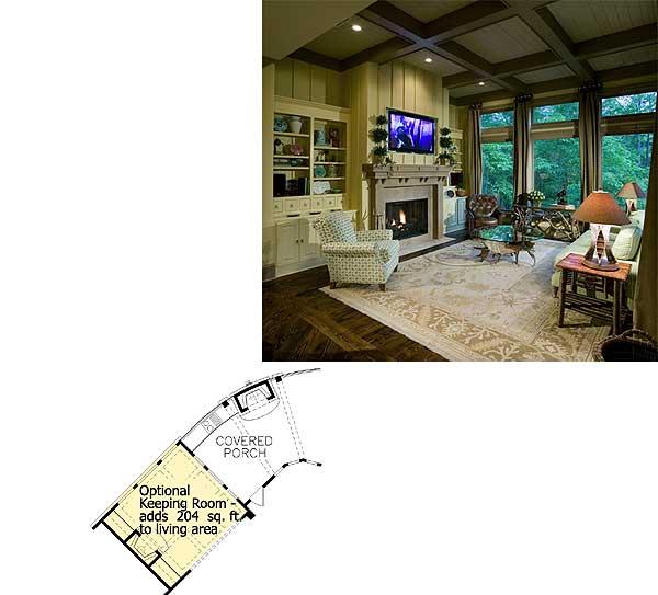 Sprightly Craftsman with Sweeping Views - 15624GE floor plan - Optional Keeping Room