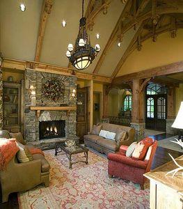 Stunning Rustic Craftsman Home Plan - 15626GE thumb - 09
