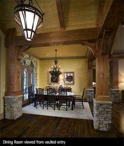Stunning Rustic Craftsman Home Plan - 15626GE thumb - 06
