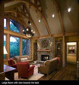Stunning Rustic Craftsman Home Plan - 15626GE thumb - 08