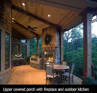 Stunning Rustic Craftsman Home Plan - 15626GE thumb - 23
