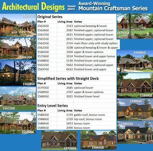 Stunning Rustic Craftsman Home Plan - 15626GE thumb - 27