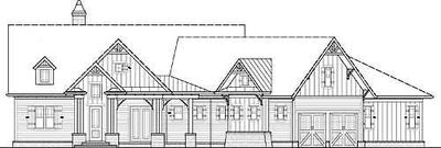 Popular Craftsman Home Plan - 15628GE thumb - 03