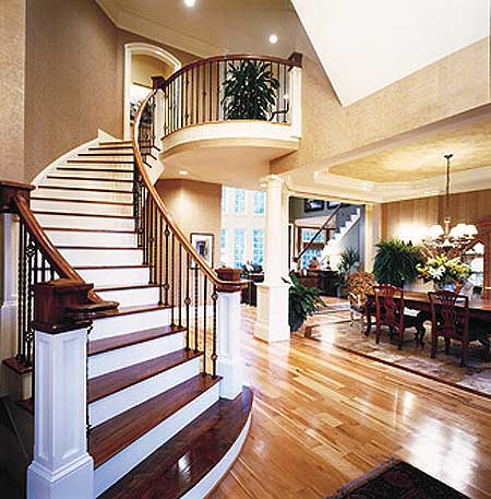 House plans 2-story great room - House interior