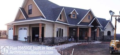 House Plan 15651GE comes to life in Texas - photo 006